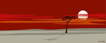 Tree at sunset by Linda Williams