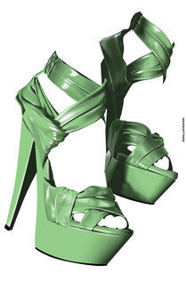 PLATFORM SHOES von SIMON HOWARD