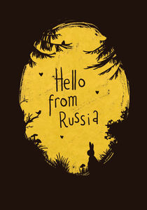 Hello form Russia by mopka