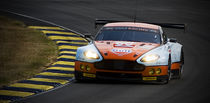 Gulf Racing Aston Martin at Le Mans 2011 by tgigreeny