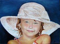 Girl with hat / Mädchen mit Hut by Apostolescu  Sorin