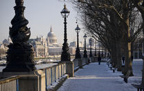 South Bank in Winter by tgigreeny