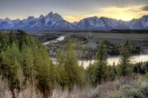 Grand Teton Sunset by tgigreeny