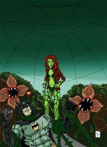 Batman vs. Posion Ivy by Will  Burton