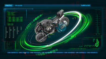 Super motorcycle by Joseph Yeo