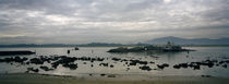 Rocks on the beach, Playa De Los Bikinis, Santander, Cantabria, Spain by Panoramic Images