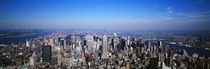Aerial View, New York City, NYC, New York State, USA by Panoramic Images