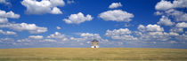 Barn in the farm, Grant County, Minnesota, USA by Panoramic Images