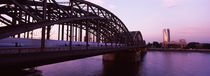 Triangle Building, Rhine River, Cologne, North Rhine Westphalia, Germany by Panoramic Images