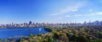 Buildings in a city, Central Park, Manhattan, New York City, New York State, USA von Panoramic Images