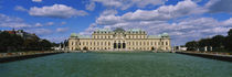 Facade of a palace, Belvedere Palace, Vienna, Austria by Panoramic Images