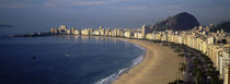 High Angle View Of The Beach, Copacabana Beach, Rio De Janeiro, Brazil by Panoramic Images