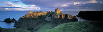 High angle view of a castle, Stonehaven, Grampian, Aberdeen, Scotland von Panoramic Images