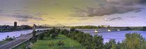Pont De La Concorde, Montreal, Quebec, Canada by Panoramic Images