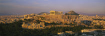 High angle view of buildings in a city, Acropolis, Athens, Greece von Panoramic Images