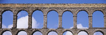 Roman Aqueduct, Segovia, Spain by Panoramic Images