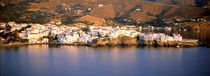 Buildings at the waterfront, Andros, Cyclades Islands, Greece by Panoramic Images