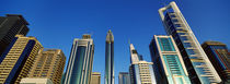 Low angle view of buildings, Dubai, United Arab Emirates 2010 by Panoramic Images