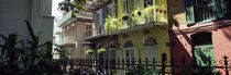 Buildings along the alley, Pirates Alley, New Orleans, Louisiana, USA von Panoramic Images