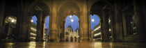 Arcade of a building, St. Mark's Square, Venice, Italy by Panoramic Images