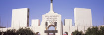 Facade of a stadium, Los Angeles Memorial Coliseum, Los Angeles, California, USA von Panoramic Images