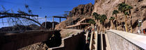 Tourists at a dam, Hoover Dam, Arizona-Nevada, USA by Panoramic Images
