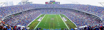 NFL Football, Ericsson Stadium, Charlotte, North Carolina, USA von Panoramic Images