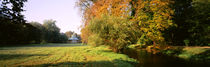 Park Sans-Souci w/ teahouse in Autumn Potsdam Germany by Panoramic Images