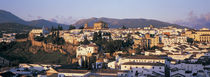 High angle view of a town, Ronda, Andalucia, Spain von Panoramic Images