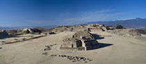 Ruins at an archaeological site, Monte Alban, Oaxaca, Mexico by Panoramic Images