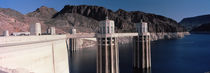 Dam on the river, Hoover Dam, Colorado River, Arizona, USA von Panoramic Images