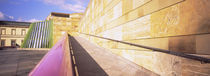 Low Angle View Of An Art Museum, Staatsgalerie, Stuttgart, Germany von Panoramic Images