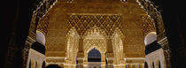 Alhambra, Granada, Andalusia, Spain von Panoramic Images
