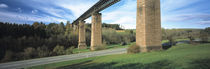 Railway bridge across a landscape, Schwarzwald, Baden-Württemberg, Germany von Panoramic Images