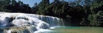 Aqua Azul Chiapas Mexico von Panoramic Images
