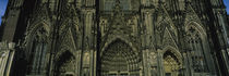 Facade of a cathedral, Cologne Cathedral, Cologne, Germany von Panoramic Images