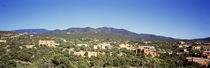 High angle view of a city, Santa Fe, New Mexico, USA by Panoramic Images