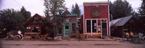 Shops in a town, Crested Butte, Gunnison County, Colorado, USA by Panoramic Images