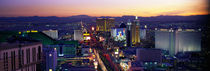 The Strip, Las Vegas, Nevada, USA by Panoramic Images