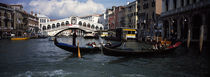 Tourists on gondolas, Grand Canal, Venice, Veneto, Italy by Panoramic Images