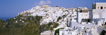 Buildings, Houses, Fira, Santorini, Greece by Panoramic Images
