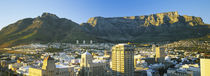 High angle view of a city, Cape Town, South Africa von Panoramic Images