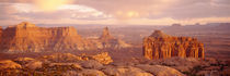 Rock formations on a landscape, Canyonlands National Park, Utah, USA von Panoramic Images