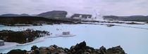 People In The Hot Spring, Blue Lagoon, Reykjavik, Iceland by Panoramic Images