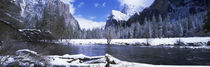 USA, California, Yosemite National Park, Flowing river in the winter by Panoramic Images