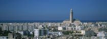 High angle view of a city, Casablanca, Morocco von Panoramic Images