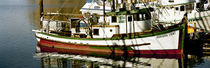 Fishing boats in the sea, Morro Bay, San Luis Obispo County, California, USA by Panoramic Images