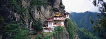 Monastery On A Cliff, Taktshang Monastery, Paro, Bhutan von Panoramic Images