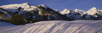 Capitol Peak on right, Elk Mountains, Snowmass Village, Colorado, USA by Panoramic Images