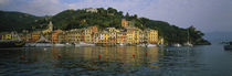 Town at the waterfront, Portofino, Italy by Panoramic Images